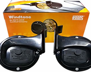 ROOTS ORIGINAL WINDTONE SKODA TYPE HORN (12V)