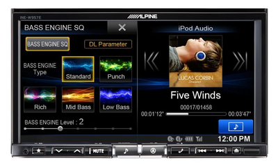 Alpine INE-W957E
